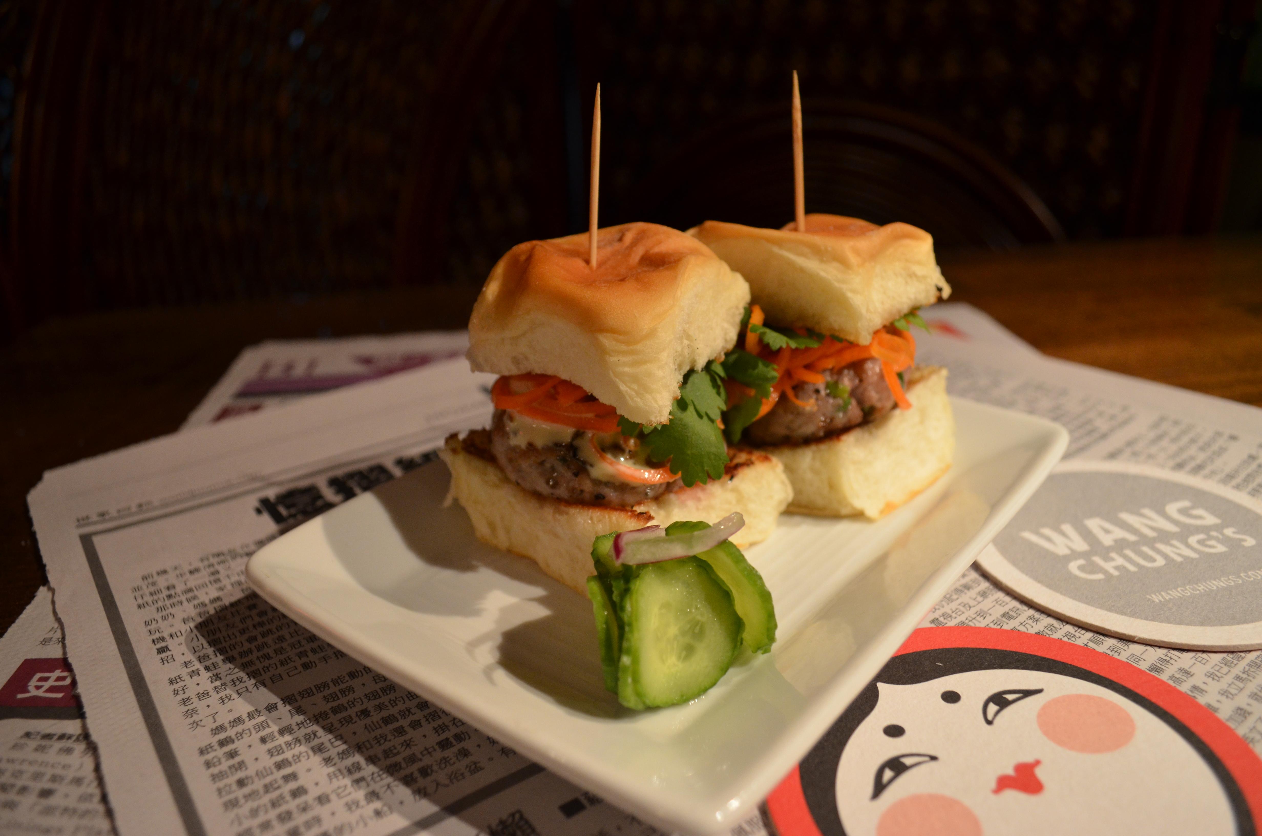 Saigon Pork Hash Sliders