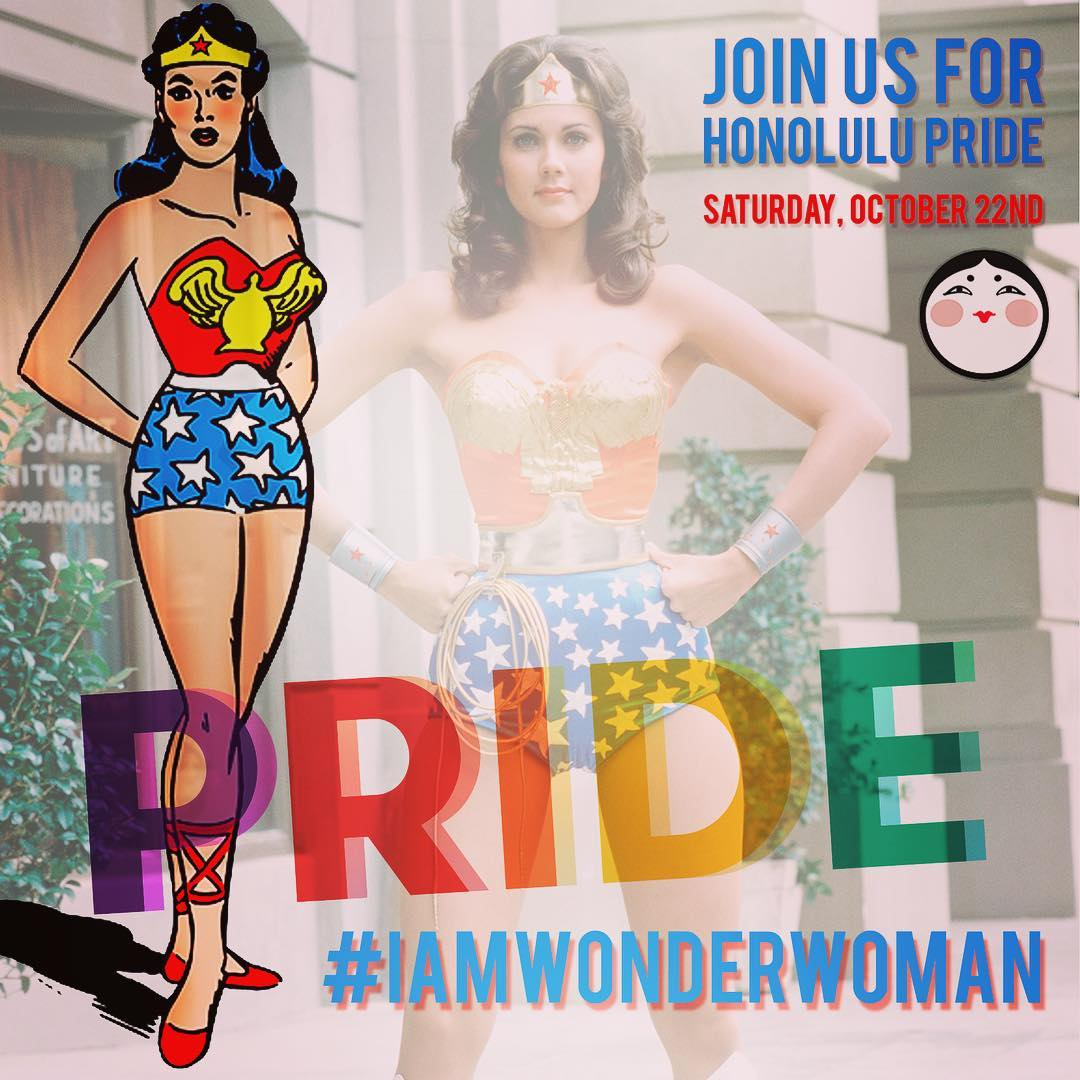 Honolulu Pride is coming! This year, Wang Chung's will be doing a GIANT Wonder Woman float. And we need you wonderful people to grab your Wonder Woman outfit, (spin to get the dust off), and walk with us to break the record for the most Wonder Woman impersonators in a parade! Let's do this!!! #wangchungs #iamwonderwoman #iampride #hnlpride